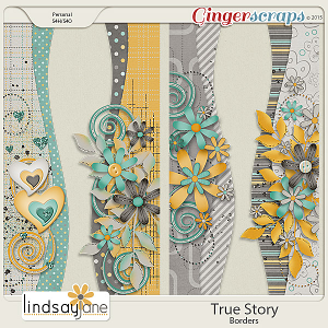 True Story Borders by Lindsay Jane
