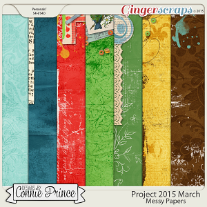 Project 2015 March - Messy Paper Pack