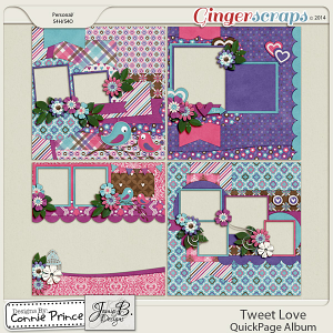 Tweet Love - QuickPage Album