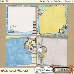 Retiring Soon - Seaside - PreDeco Paper Pack