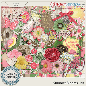 Summer Blooms - Kit