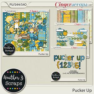 Pucker Up BUNDLE by Heather Z Scraps