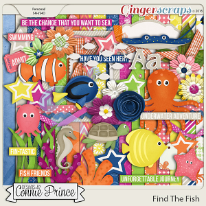 Find The Fish - Kit
