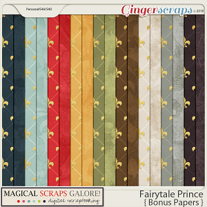 Fairytale Prince (bonus papers)