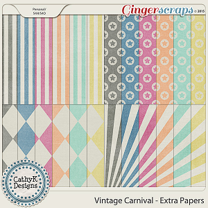 Vintage Carnival - Extra Papers