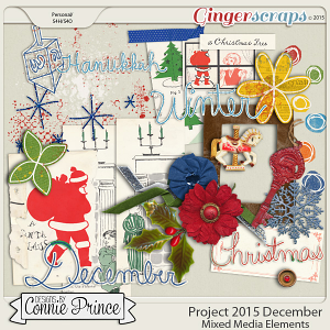 Project 2015 December - Mixed Media Elements