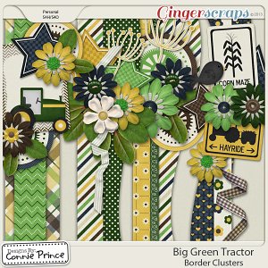 Retiring Soon - Big Green Tractor - Border Clusters