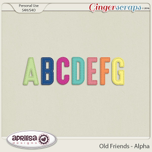 Old Friends - Alpha by Aprilisa Designs