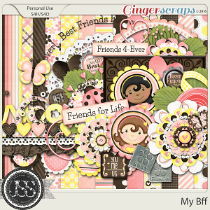 My Bff Digital Scrapbooking Kit