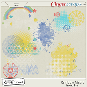 Rainbow Magic - Inked Bits