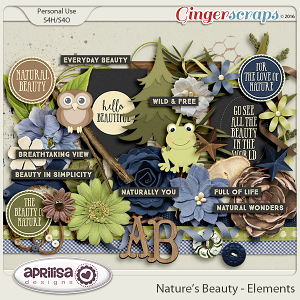 Nature's Beauty - Elements by Aprilisa Designs