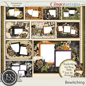 Bewitching 5x7 Brag Book