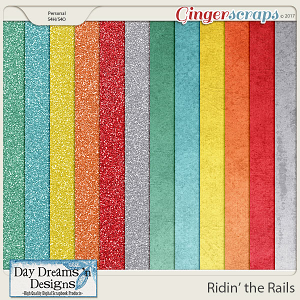 Ridin' the Rails {Glitters} by Day Dreams 'n Designs