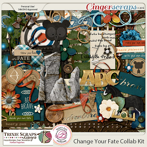 Change Your Fate Collaboration Kit by Trixie Scraps & Britt-ish Designs