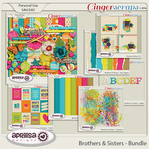 Brothers & Sisters - Bundle by Aprilisa Designs