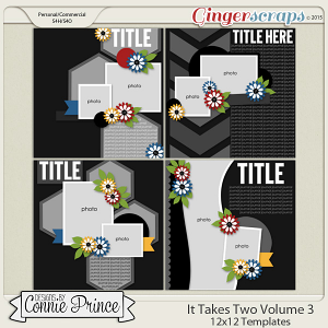 It Takes Two Volume 3 - 12x12 Temps (CU Ok)