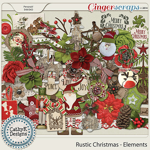 Rustic Christmas - Elements