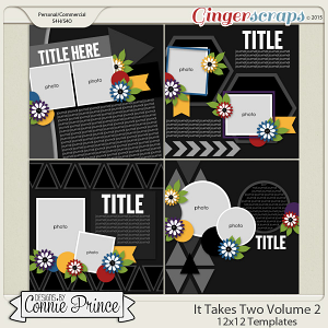 It Takes Two Volume 2 - 12x12 Temps (CU Ok)