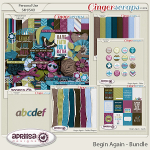 Begin Again - Bundle by Aprilisa Designs