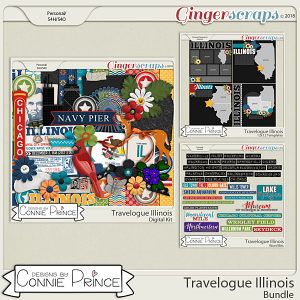 Travelogue Illinois - Bundle Pack by Connie Prince