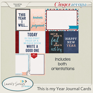 This is my Year Journaling Cards
