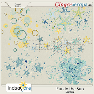 Fun In The Sun Scatterz by Lindsay Jane