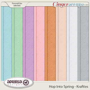 Hop Into Spring - Krafties by Aprilisa Designs