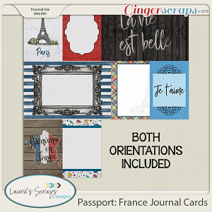 Passport: France Cards
