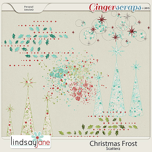 Christmas Frost Scatterz by Lindsay Jane