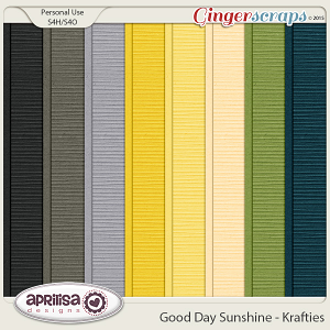 Good Day Sunshine - Krafties by Aprilisa Designs