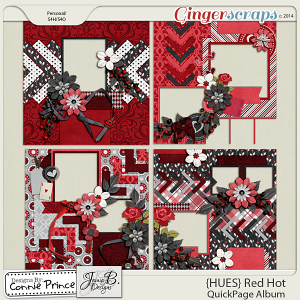 {HUES} Red Hot - QuickPage Album