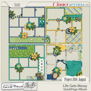 Project 2014 August: Life Gets Messy - QuickPages