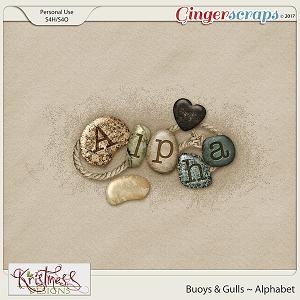 Buoys & Gulls Alphabet