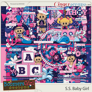 S.S. Baby Girl by BoomersGirl Designs