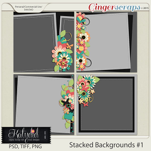 Stacked Backgrounds Layered Templates Pack No 1