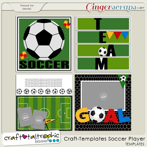 Craft-Templates Soccer Player