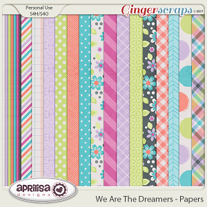We Are The Dreamers - Papers by Aprilisa Designs
