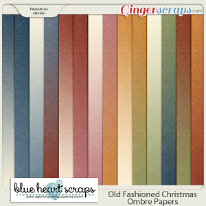 Old Fashioned Christmas Ombres