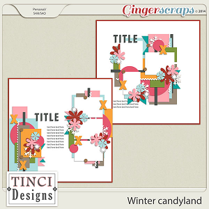 Winter candyland