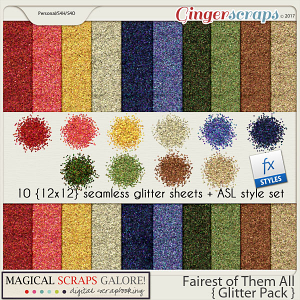 Fairest of Them All (glitter pack)