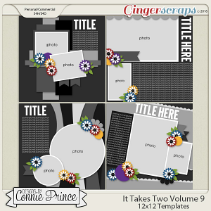 It Takes Two Volume 9 - 12x12 Temps (CU Ok)