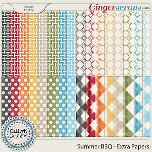 Summer BBQ - Extra Papers
