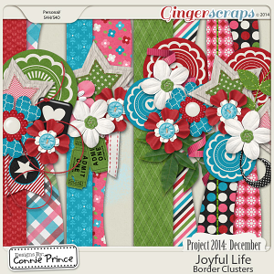 Project 2014 December: Joyful Life - Border Clusters