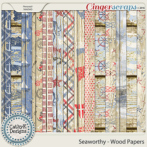 Seaworthy - Wood Papers