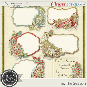 Tis The Season Journal Clusters