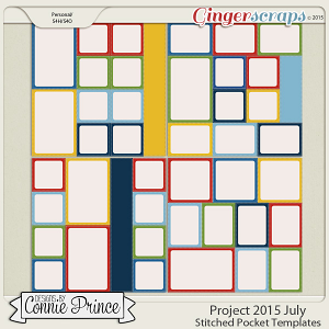 Project 2015 July - Stitched Pocket Templates