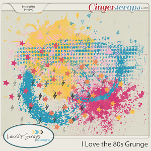 I Love the 80s Grunge