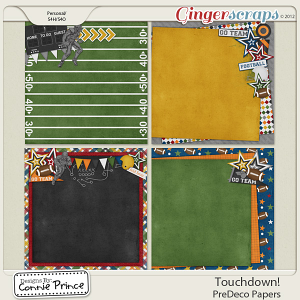 Touchdown! - PreDeco Papers