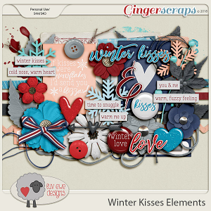 Winter Kisses Elements by Luv Ewe Designs