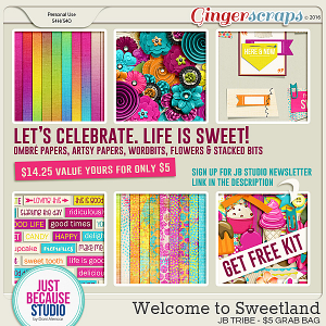 Welcome to Sweetland by JB Studio (JB Tribe $5 Grab Bag)